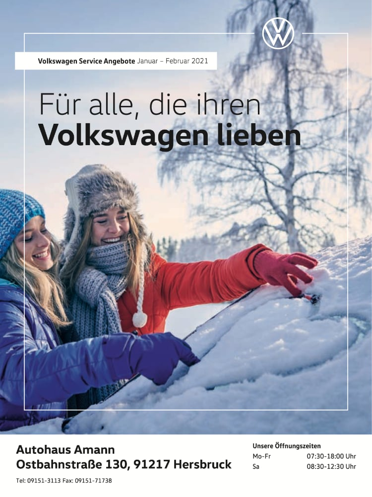 VW Prospekt Januar – Februar 2021
