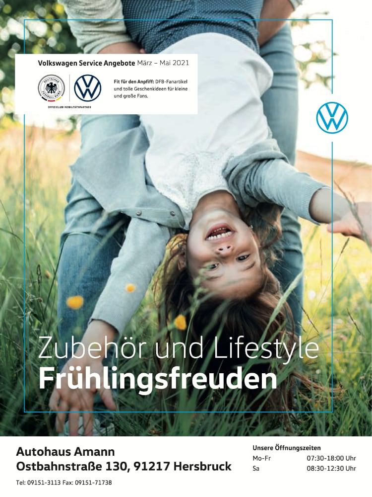 VW Prospekt März – Mai 2021